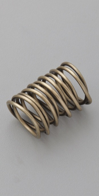 Kelly Wearstler | Twisted Brass Ring