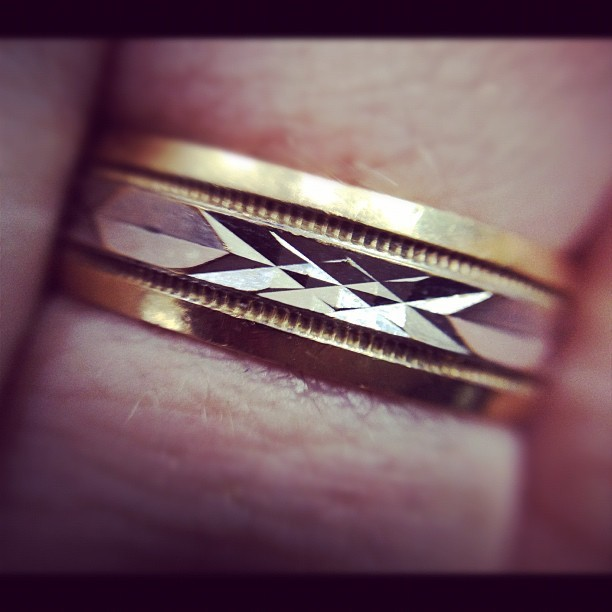 My wedding ring (Taken with instagram)