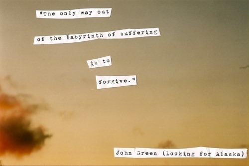 I love John Green and Looking for Alaska