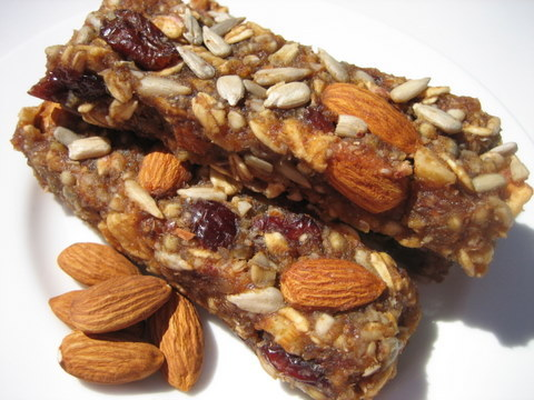 Easy and Healthy Granola Bars or No Bake Cookies