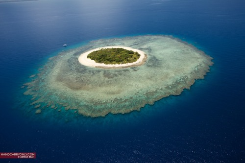 The perfectly round Mala Mala Island