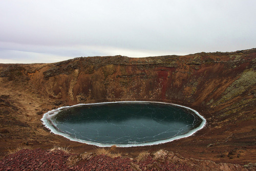 Kerio Volcanic Crater, Iceland by Adam Hallyburton on Flickr.