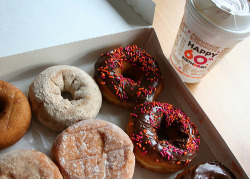 Dunkin donuts ….that's the way to do it 💚✌