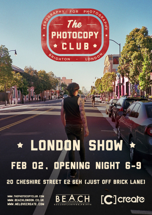 thephotocopyclub:  Poster by Jack wells. Photo by Matt Martin Please Reblog x