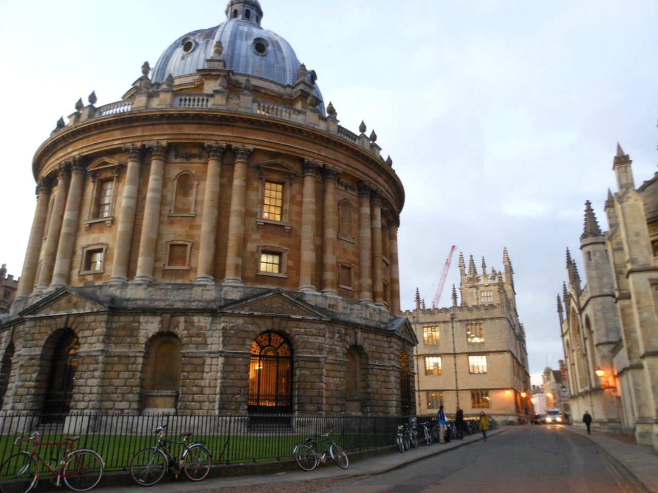 eur0trash:  Radcliffe Camera, Oxford  One of next year's libraries, I suppose. Lucky me. Rather intimidating, really. If I ever get to Oxford, it will have been in spite of Student Finance England and their persistent motherfuckery. Words cannot express how angry their advisers and their Stalinist website make me.