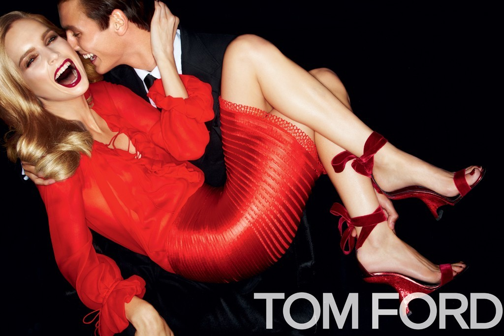 Tom Ford Spring 2012 RTW campaign Because clothes cannot bring you happiness…but they provide a satisfying alternative!