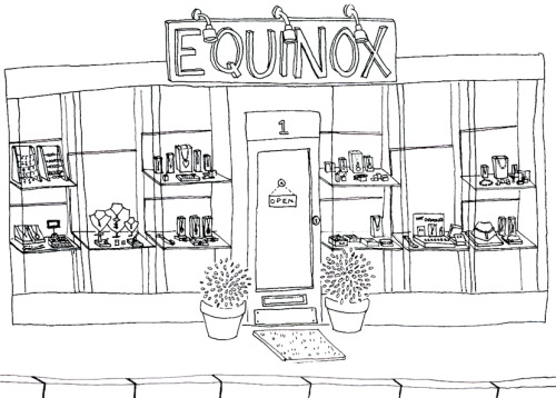 A little bit about Equinox and me. I started working at Equinox Silver back when i was 17, and Equinox was 3, which seems a very long time ago now. Back then i was a Saturday girl and worked in the shop, cleaning and polishing and helping the customers (and then cleaning and polishing some more). Tim and Anna (the lovely owners) thought they had managed to get rid of me when i left to go to university in 2008, but when i came back 3 years later - degree in hand but entirely unemployed, they offered me Silvertips. Silvertips was their new custom jewellry making business and it is now my baby, and although i still spend much of my time polishing, its things i've made this time - which is infinitely more exciting!