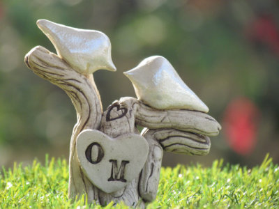 """Love Birds"" Customizable Sculpture by orlydesign"