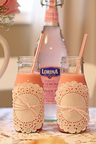 Easy way to make your beverages look so cute and full of character!