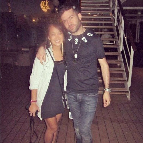 Sorry for stalking you so much on @holy_ship, @atrak. #NoImNot (Taken with Instagram at Holy Ship!)