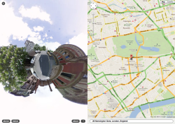 Stereoscopic Streetview - Google Maps Hack