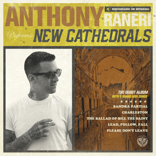 "My first solo EP ""New Cathedrals"" will be out on January 17th. You can pre order the cd now or buy it on iTunes next week."