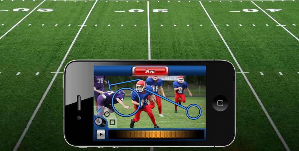 (via Coach's Eye: The ultimate coaching app for iPhone and iPod touch) I can't believe I just saw the TechSmith email about this from November. This has to be one of the coolest apps I've seen for the iPhone in regards to annotating video on your phone. Audio commentary, drawing visual graphics like what you see commentators doing on sports replays - all on my phone? Yes, please.  I don't care much about sports, but I am imagining other educational possibilites….