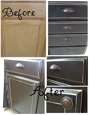 Cupboard/Cabinet Makeover Tutorial