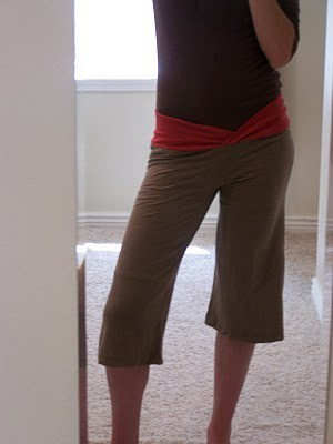Easy DIY Yoga Pants Tutorial Made from T-Shirts!