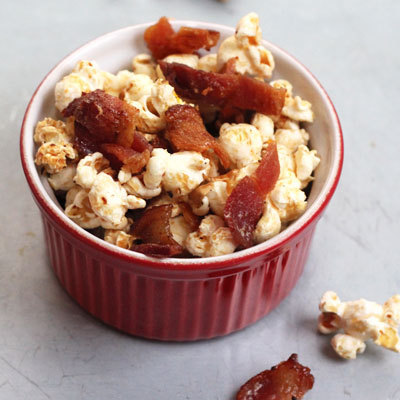 As for flavoured popcorn, check out these five recipes sure to tantalize any taste bud. I just know my beau will love me forever once he lays his lips on the Maple Bacon Popcorn