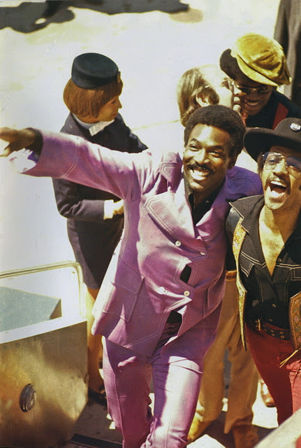 Wilson Pickett in Ghana for the Soul to Soul Concert in 1970