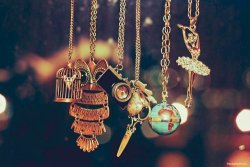 I found/purchased the camera necklace on etsy! but, holycowiwantthatglobe…  Rings, necklaces… on We Heart It. http://weheartit.com/entry/18440566