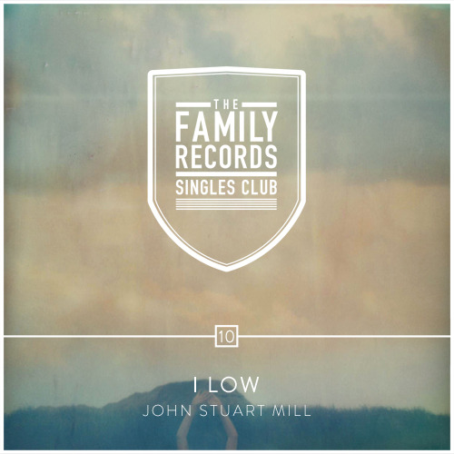 "Coming later today, the tenth installment of The Family Records Singles Club: I Low - ""John Stuart Mill"".  This is the artwork, designed by Jose and Edwin of ILoveMisery, based on a lovely photo by Spanish photographer Ana Cabaleiro.  Stay tuned for the audio post later today! -Emma"