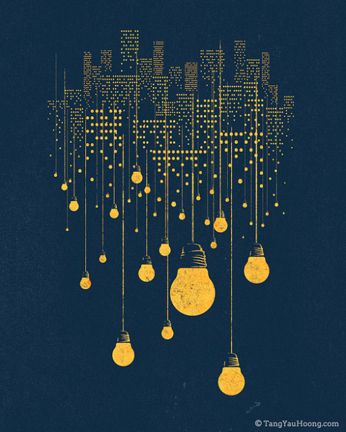 The Hanging City on Flickr.By Tang Yau Hoong: Website | Shop | Facebook | Tumblr | Twitter  | Behance