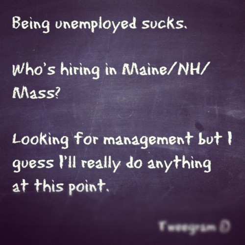 #tweegram The job hunt is exhausting. (Taken with Instagram at South Berwick)