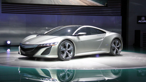 The new Acura NSX hybrid concept car From this Wired article by Matt Hardigree