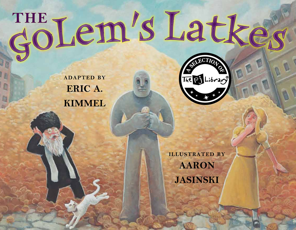 """The Golem's Latke's""   received the 2011 National Jewish Book award for the illustrated children's book category.  I'm totally blown away. Sending huge thanks to those I worked with at Marshall Cavandish: Anahid and Margery, and especially author Eric Kimmel who's magical prose made it easy so to paint the pictures for his story."