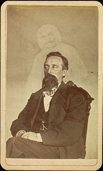 "ca. 1861, ""John J. Glover"", William Mumler  via the J. Paul Getty Museum"