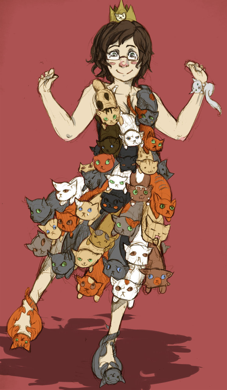 Cat Dress by =Ikkida