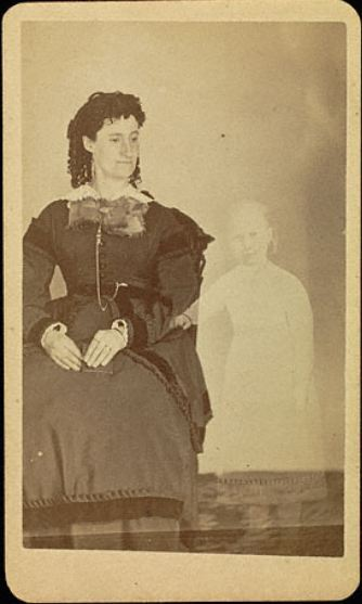 "ca. 1861, ""Mrs. Tinkman"", William Mumler via the J. Paul Getty Museum"