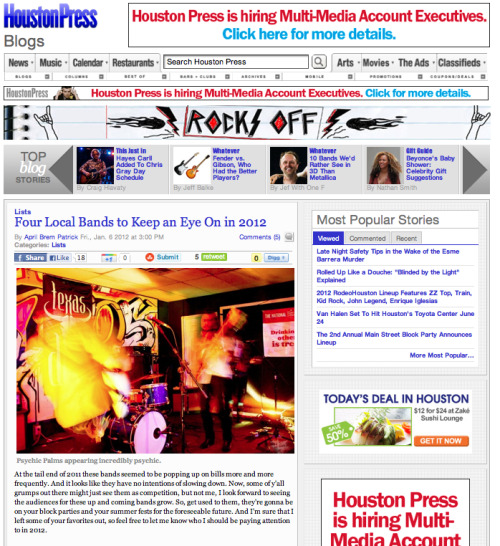 Photography published in Houston Press. (click to see article) To see more from the set, go to: http://www.flickr.com/photos/36001694@N02/sets/72157627611143849/show/