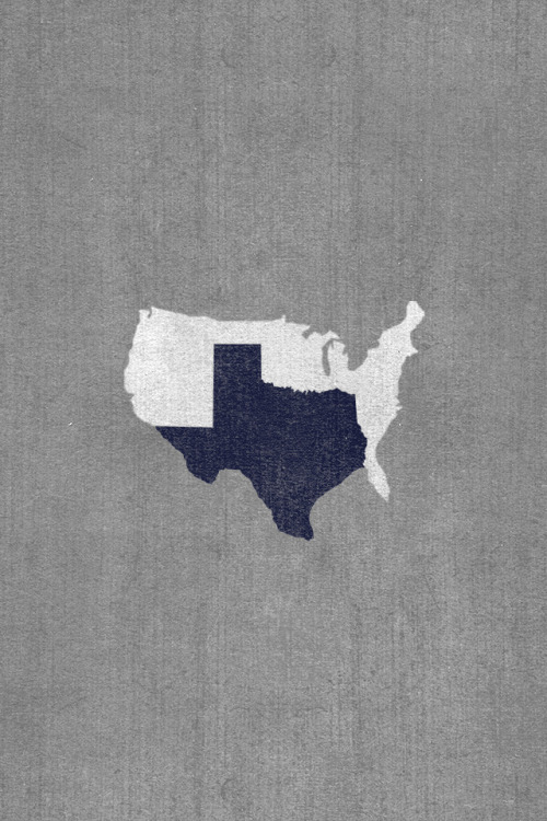 brittanieshey:  texashumor:  Here, I fixed that map for ya America. (this is iPhone background sized. Click through for full size)  Texas. You cray-cray, but I love ya.