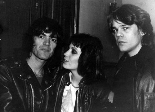 Dee Dee Ramone, Joan Jett, and David Johansen