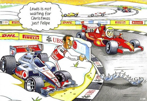 Bernie's 2011 Christmas card…
