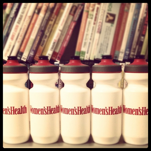 Our staffers like to stay hydrated. (Taken with instagram)