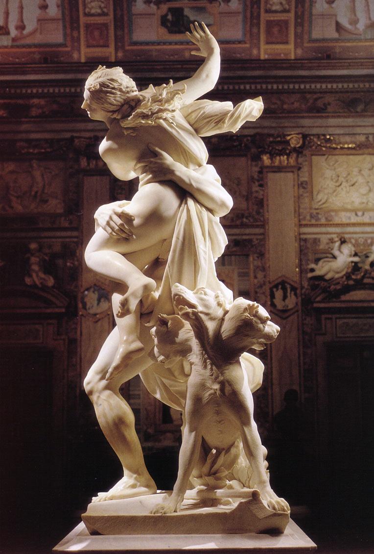 The Rape of Proserpina Gian Lorenzo Bernini, dit Le Bernin1621-22.