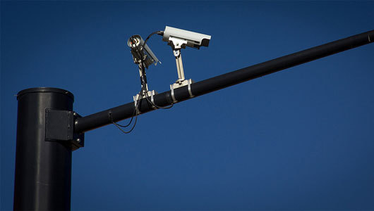 "mothernaturenetwork:  How traffic surveillance is invading your privacyWhile they may be a crime deterrent, traffic cameras can range from $67,000 to $80,000 per intersection, a hefty price for the taxpayer.  Funniest part of this article:   But experts say that one of the biggest problems with parking sensors,  as with all of these devices, is the absolute right or wrong of it all.   ""People get upset when there is 100 percent enforcement,"" Stanley said.  ""That is something we will have to grapple with as a society.""  HOLY CRAP YOU GUYS THIS IS SO UNFAIR YOU CAN'T BREAK ANY TRAFFIC LAWS AT ALL ANYMORE!!"
