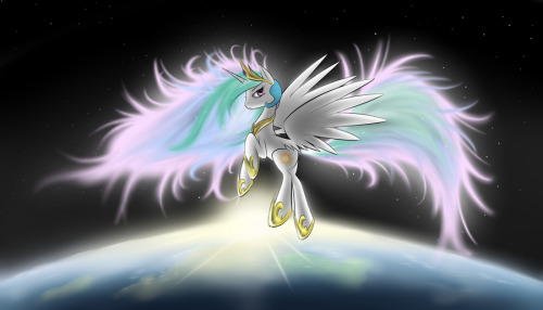 Badass Celestia is nice.