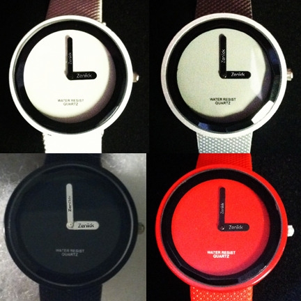 urbanemenswear:  Cool modern watches by Zeniick, visit their Kickstarter here.