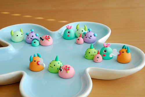 JooJoo Land's monsters by {JooJoo} on Flickr.
