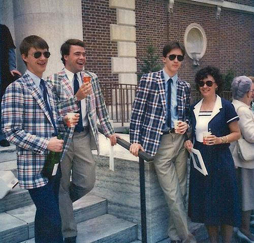 Bleeding madras pleasurablerevelation:  Duke University Graduation - 1982 - Clayton Family.
