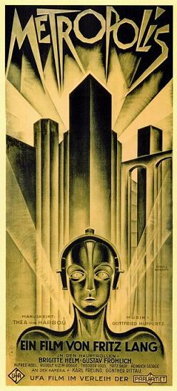 "Today in History - January 10, 1927 Fritz Lang's Metropolis released in Germany. Critics panned it. Future Nazi Propaganda honcho Joseph Goebbels dug it however. In 1928, he said, ""the political bourgeoisie is about to leave the stage of history. In  its place advance the oppressed producers of the head and hand, the  forces of Labour, to begin their historical mission."""