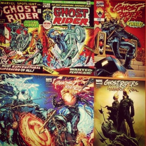 #4 #GhostRider #comics #thisweekincomics #PenanceStare #Hellfire #Demon (Taken with instagram)