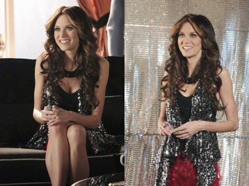 Hilarie in Castle episode stills (4x13)