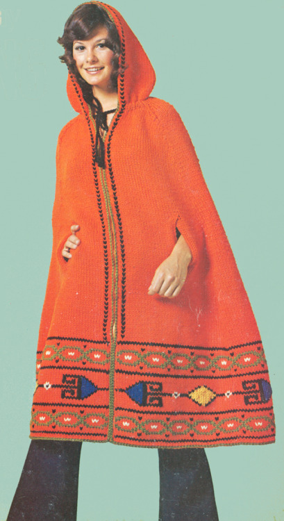 Red Riding Hood with a 70s spin (via Cemetarian.com)