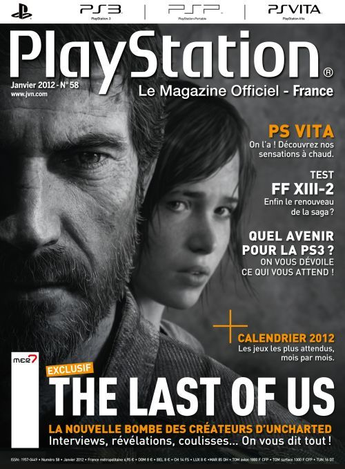 everythingthelastofus:  French cover for the PlayStation magazine. January 2012.