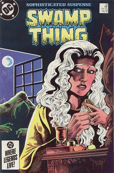 Saga of Swamp Thing #33, February 1985, written by Alan Moore, penciled by Ron Randall