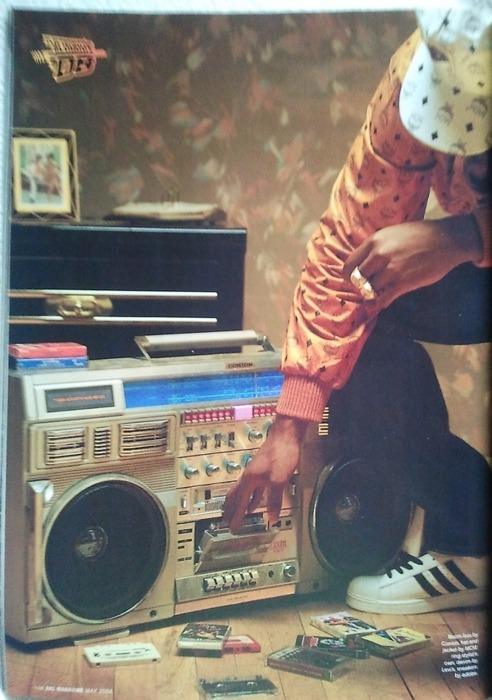 I always wanted to have a boom box!