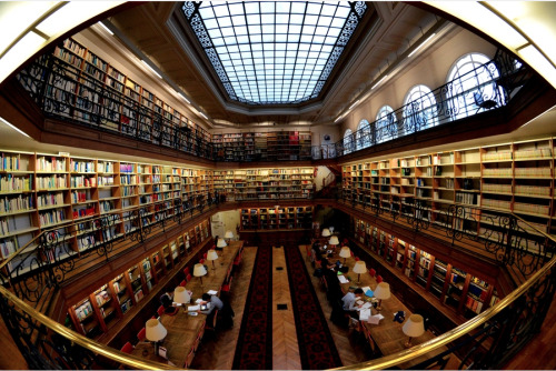 teachingliteracy:  Library reading room by Jose-Marcio MC