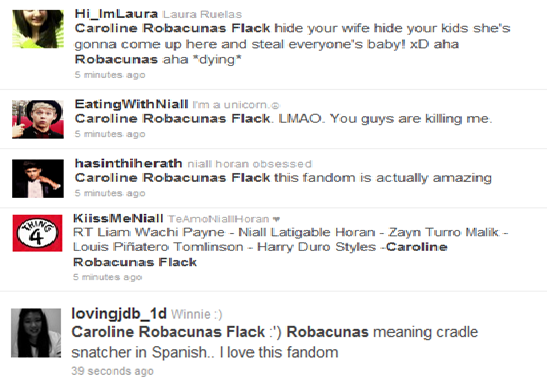 This make me laugh so hard! Latin Directioners rock… las amo <3